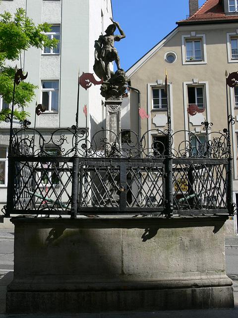Regensburg - Fischmarktbrunnen