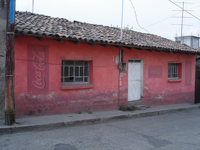 Dry Coca-cola / Coca asséché - 4 avril 2011.