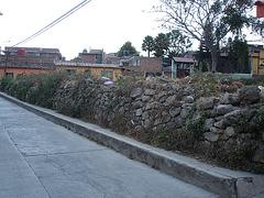 Clôture de pierres / Stones fence