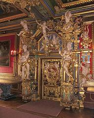 Götterpforte im Goldenenen Saal