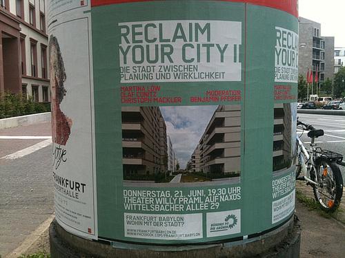 Plakat Reclaim your city