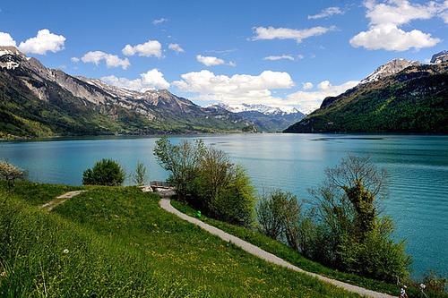 Le lac de Brienz (Oberland bernois)