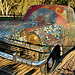 Old car, Gaudi-esque