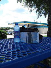 Texas en bleu / Blue Texas