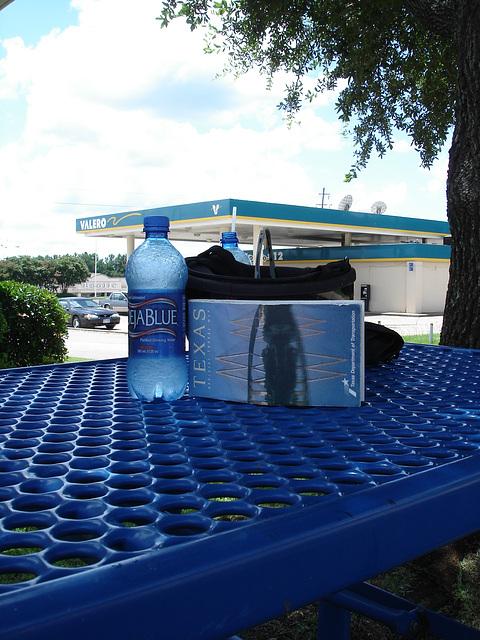 Texas en bleu / Blue Texas - 6 juillet 2010