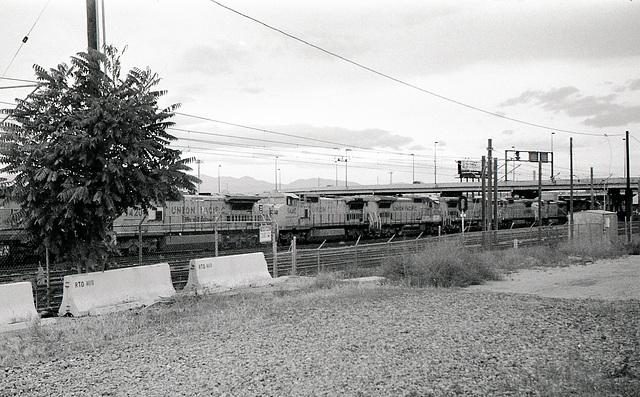Union Pacific yard, Denver CO