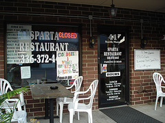 Sparta restaurant - 14 juillet 2010.