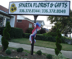 Sparta florist & gifts / Fleurs & cadeaux - july 15th 2010.