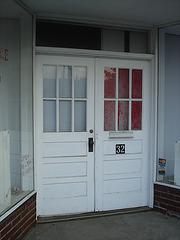 Sparta's double doors / Porte double sur Sparta - 15 juillet 2010.