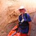 Lake Powell Slot Canyon - Myself (2435)