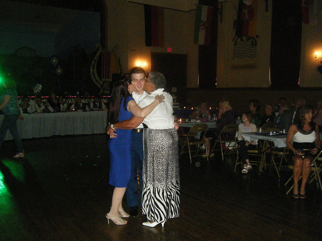 mother and grandmother dance
