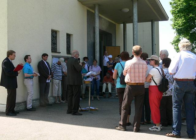 Eröffnung des ökumenischen Besinungsweges