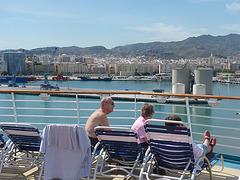 Puerto de Malaga desde el  crucero