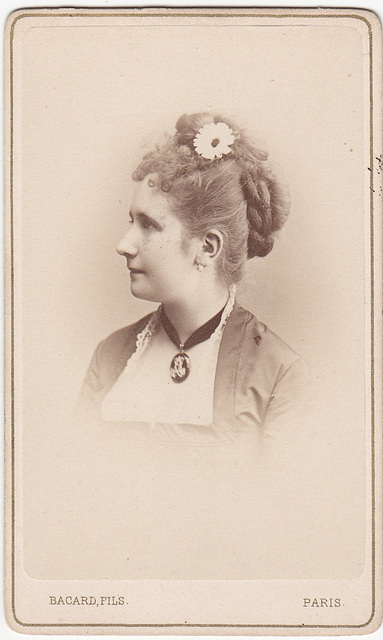 Adèle Isaac by Thiébault