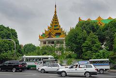 U Htaung Bo Road in Yangon