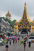 Gyar Twaya St to the Shwedagon premise