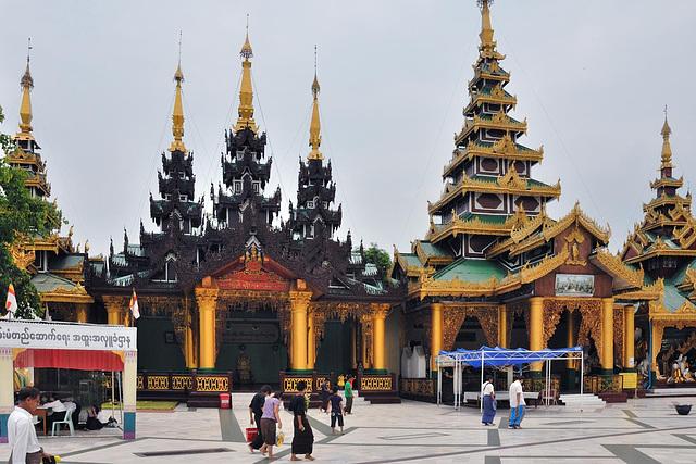 Victory Ground at Shwedagon