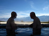 Jim & Albert in the Volcano Pool (2143)