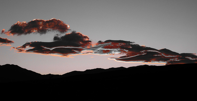 Sunset Clouds in Saline Valley (2183)