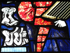 North Ailse Window, All Saints' Church, Nafferton, East Riding of Yorkshire