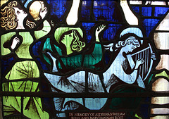 North Ailse Window, All Saints' Church, Nafferton, East Riding of Yorkshire