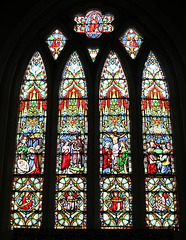 East Window, All Saints' Church, Nafferton, East Riding of Yorkshire