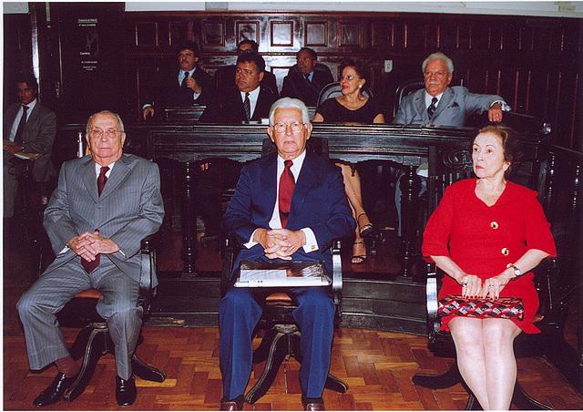 Edmo Rodrigues Lutterbach, entre homenageados