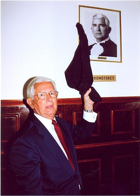Edmo Rodrigues Lutterbach, homenageado pelo Tribunal do Júri da Comarca de Niterói
