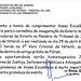 Convite para inauguração da Galeria de Fotos no Tribunal do Júri da Comarca de Niterói