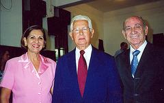 Neide Barros Rêgo, Edmo Rodrigues Lutterbach e Walmir Ventura Rego -25-4-2007