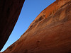 Slot Canyon & Moon (2468)
