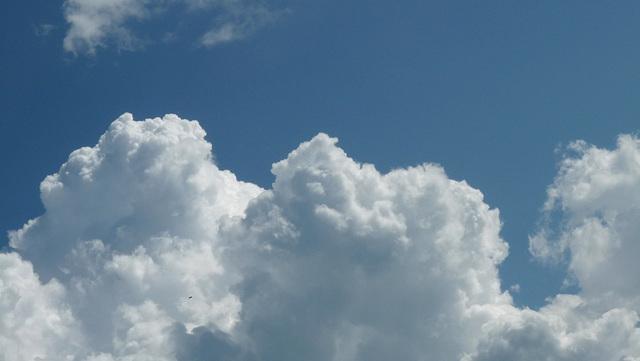 Je suis dans les nuages ce soir......