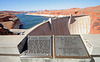 Glen Canyon Dam & Lake Powell Plaques (4446)