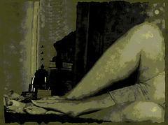 Dame Annick / MY LEGS - MES JAMBES - Vintage postérisé