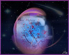 Un matin, un lutin.......... M'a dit tout est possible ..............Que tous les rêves du monde .............Te seront accessibles......Et passe à ton voisin