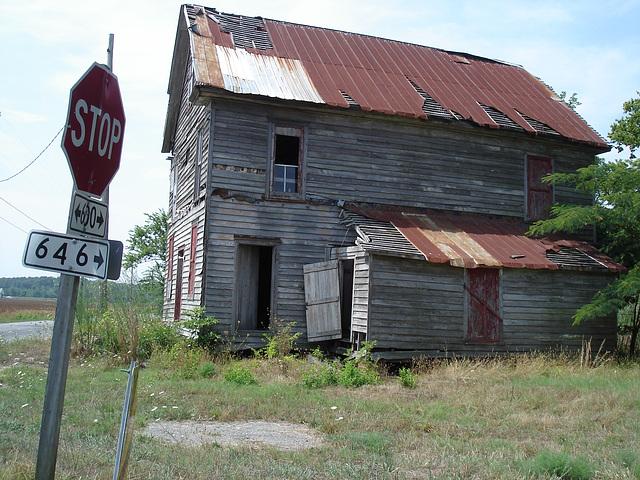Maison aux courants d'air / Drafts house - Stop and take a picture ! Un arrêt qui vaut une photo.