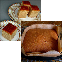 Soft ´n´spicy treacle gingerbread