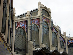 Mercado central - l'entrée principale