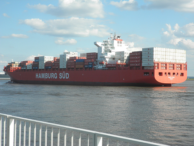 "Containerschiff  ""SANTA CRUZ"""