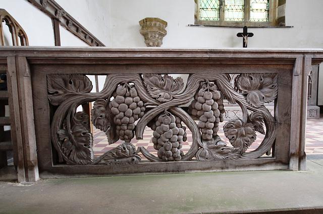Altar Rail, Burwell Church, Lincolnshire