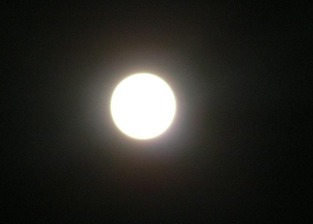 Vollmondnacht im Mai 2012
