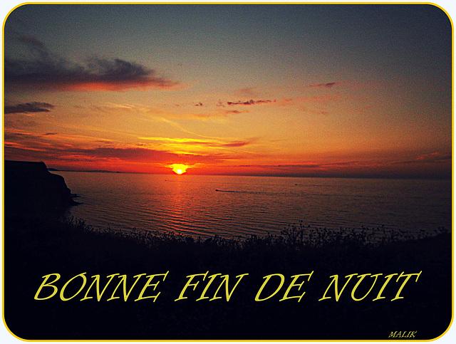 BONNE FIN DE NUIT.!!