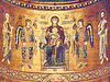P3266314ac Monreale Cathedral Apse Mosaics Madonna