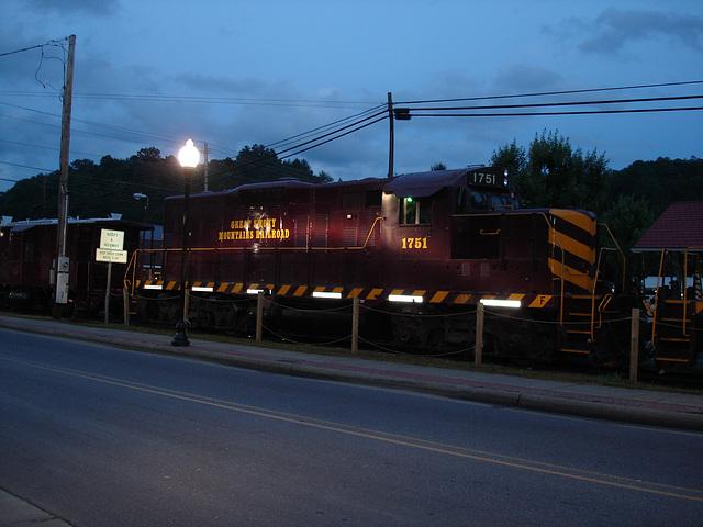 Great smoky mountains railroad / 12 juillet 2010 - Une autre version éclaircie.
