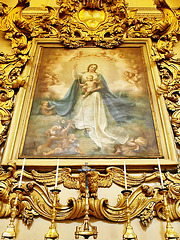 P4036871ac Catania Duomo Cathedral St Agatha Virgo Painting