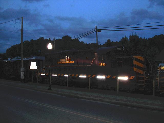 Great smoky mountains railroad  / 12 juillet 2010 - Version éclaicie