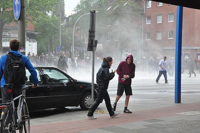 """Demo: """"Kein Platz für Nazis in Hamburg"""""""