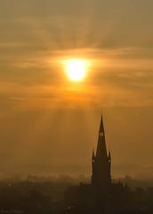 Eglise dans le matin