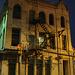 Fire escape by the night / Escalier de secours dans la nuit - 1er juillet 2010 / Avec flash