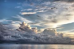 Déluge sur l'île de Raiarea